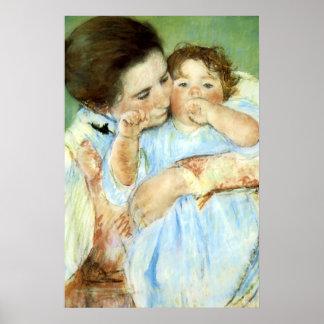Cassatt's 'Mother & Child' Poster