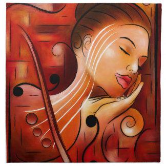 Casselopia - Violin dream Napkin