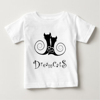 Casseminia - dreamcats with text baby T-Shirt