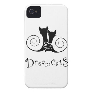 Casseminia - dreamcats with text Case-Mate iPhone 4 cases