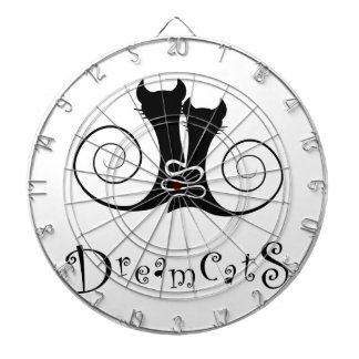 Casseminia - dreamcats with text dartboard