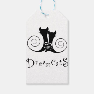 Casseminia - dreamcats with text gift tags