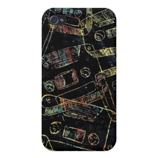 cassetes iPhone 4/4S cases