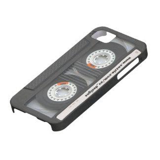 Cassette faite sur commande Mixtape Coques iPhone 5 Case-Mate