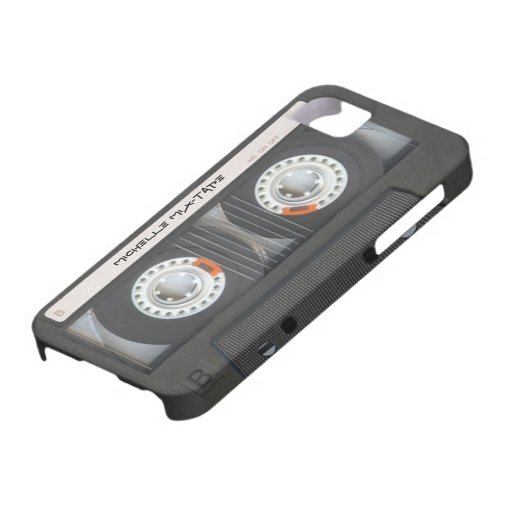 Cassette faite sur commande Mixtape Coques iPhone 5