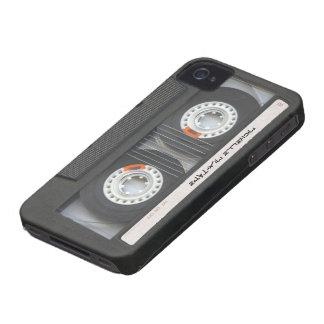 Cassette faite sur commande Mixtape Coque iPhone 4