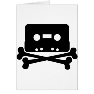 Cassette Jolly Roger Card