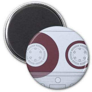 Cassette Magnet Rond 8 Cm