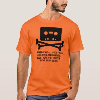 CASSETTE PIRATE SKULL T-Shirt