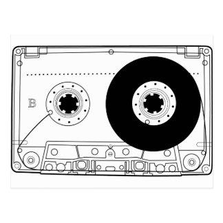 cassette retro graphic vintage t-shirt casette postcard