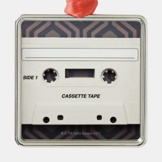 Cassette Tape 3 Metal Ornament