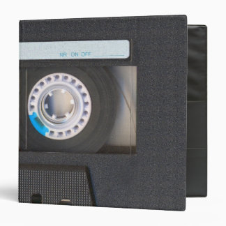 Cassette Tape 3 Ring Binder