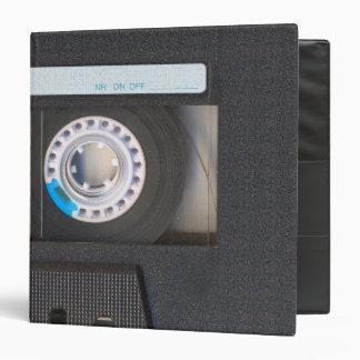 Cassette Tape 3 Ring Binder