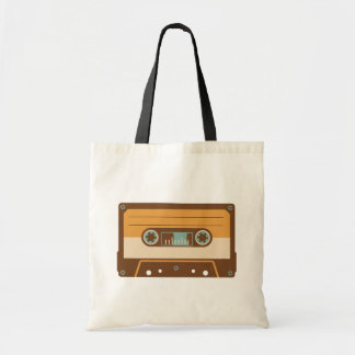 Cassette Tape Analogue Design Tote Bag