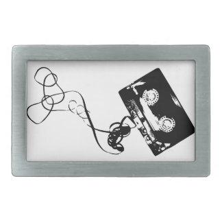 Cassette Tape Belt Buckles