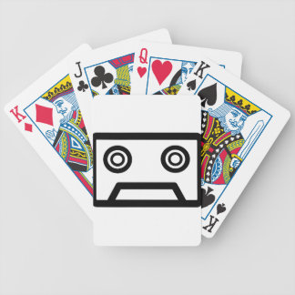 Cassette Tape Bicycle Playing Cards