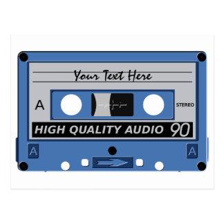 Cassette Tape custom postcard