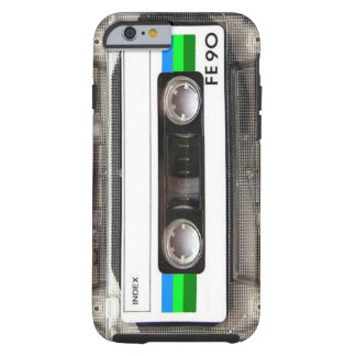 Cassette Tape Green iPhone 6 case
