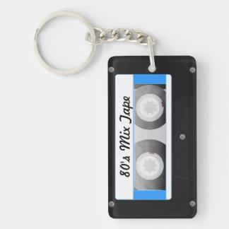 Cassette Tape Acrylic Key Chain