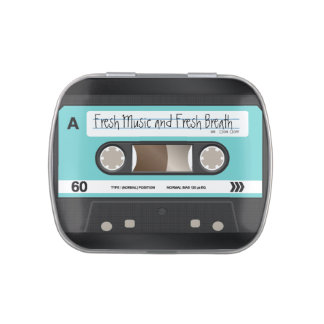 Cassette Tape Mint/Candy Tin Container