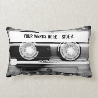 Cassette Tape Mixtape personalized Throw Pillow