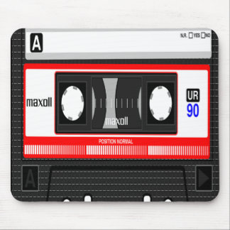 Cassette Tape Mousepad, Music Lover Mouse Pad