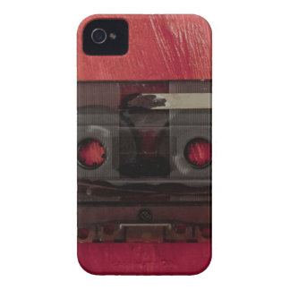 Cassette tape music vintage red Case-Mate iPhone 4 cases