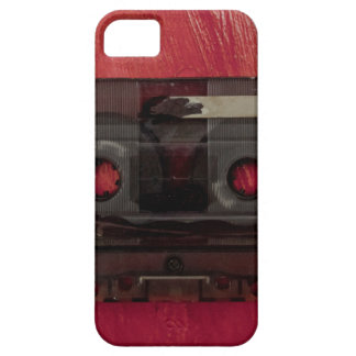 Cassette tape music vintage red iPhone 5 cover