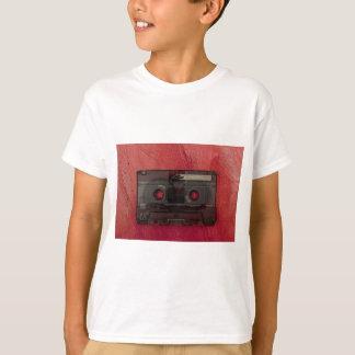 Cassette tape music vintage red T-Shirt
