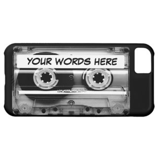 Cassette Tape Personalized Case For iPhone 5C