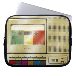Cassette Tape Player Laptop Sleeve