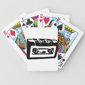 Cassette Tape Poker Deck