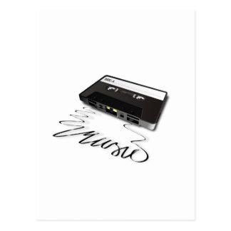 Cassette Tape Post Card