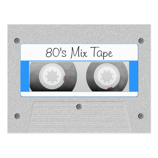 Cassette Tape Postcards