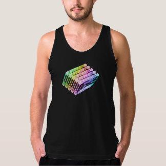 Cassette Tape Rainbow Tank Top