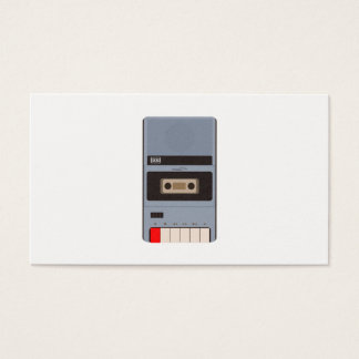 Cassette Tape Recorder Business Card