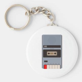 Cassette Tape Recorder Keychain