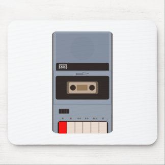 Cassette Tape Recorder Mouse Pad