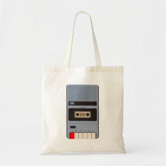 Cassette Tape Recorder Tote Bag