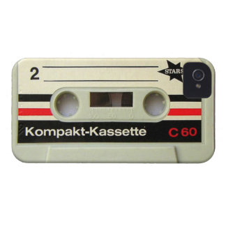Cassette Tape White Blackberry Bold Case
