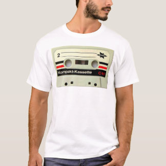 Cassette Tape White T-Shirt