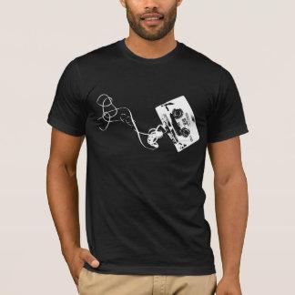 cassette tape -white T-Shirt