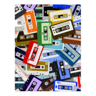Cassette Tapes Post Cards