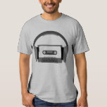 Cassette with Headphones Shirt
