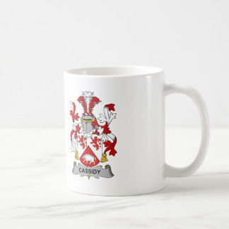 Cassidy Family Crest Coffee Mug