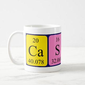 Cassidy periodic table name mug