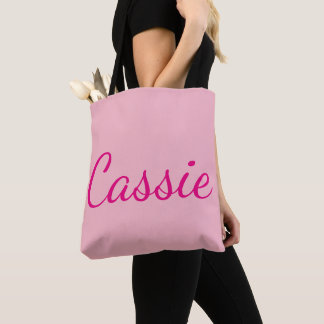 Cassie All-Over-Print Tote Bag