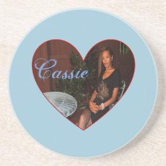 Cassie Heart Coaster