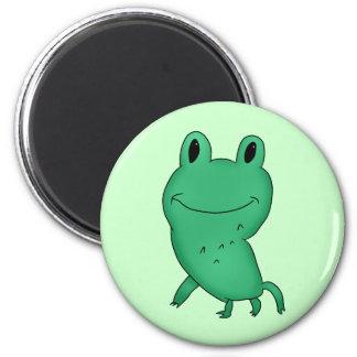 Cassie's frog magnet
