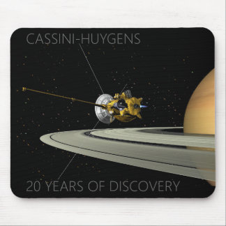Cassini - Huygens 20 Years of Discovery - Mousepad
